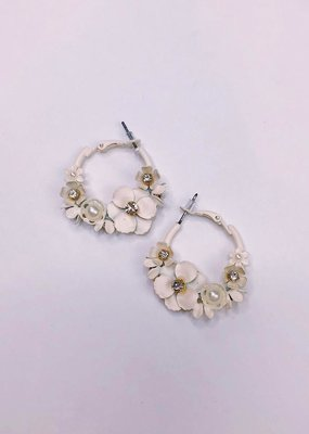 U.S. Jewelry House (New York Style) Elsie Hoops