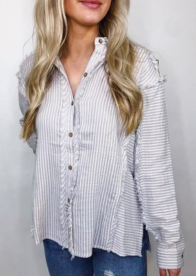 Vintage Havanna House Party Button Down Top