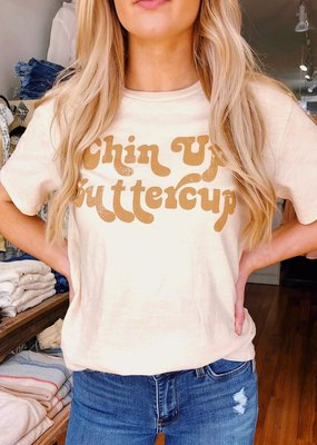 By Together Chin Up Buttercup Jersey Tee