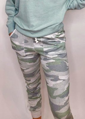 Vintage Havanna In The Army Now Camo Joggers