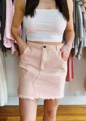 Sadie & Sage Real Love Denim Skirt