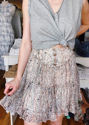 By Together Happy Tiers Flirty Skirt