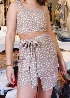 Sage The Label New Wave Wrap Skirt