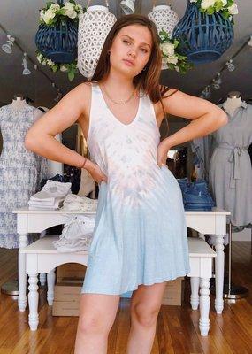 Vintage Havanna Beach Babe Tie Dye Dress