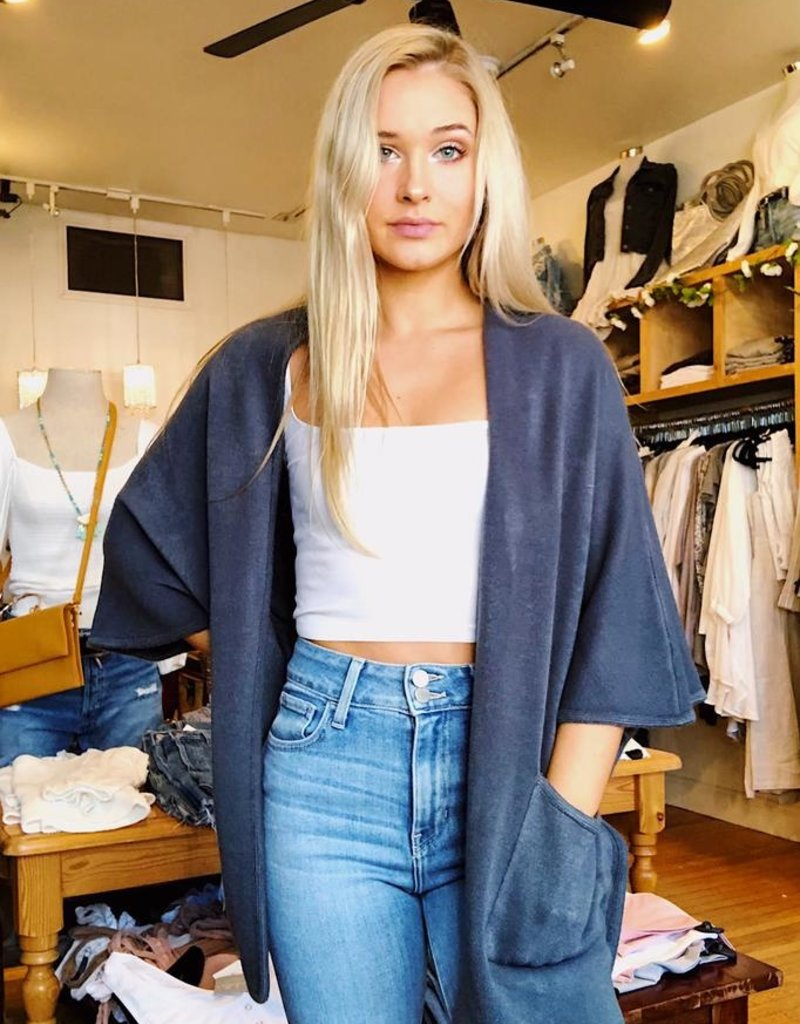 Look by M Basic Cape Poncho