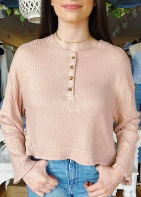 Cozy Casual Natural Selection Top