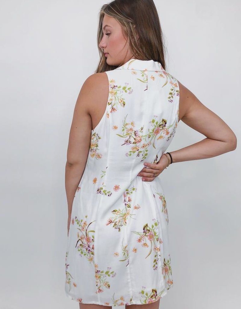 Mink Pink Floral Beauty Mini Dress