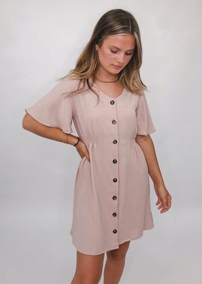 She + Sky Bae Bae Button Down Dress