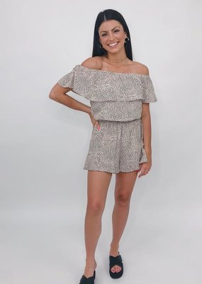 She + Sky Off the Charts Romper
