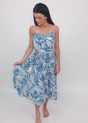 Aakaa Come Closer Maxi Dress
