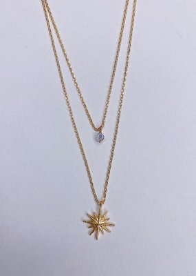 U.S. Jewelry House (New York Style) Brightest Star Necklace