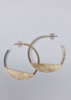 U.S. Jewelry House (New York Style) Half Full Hoops