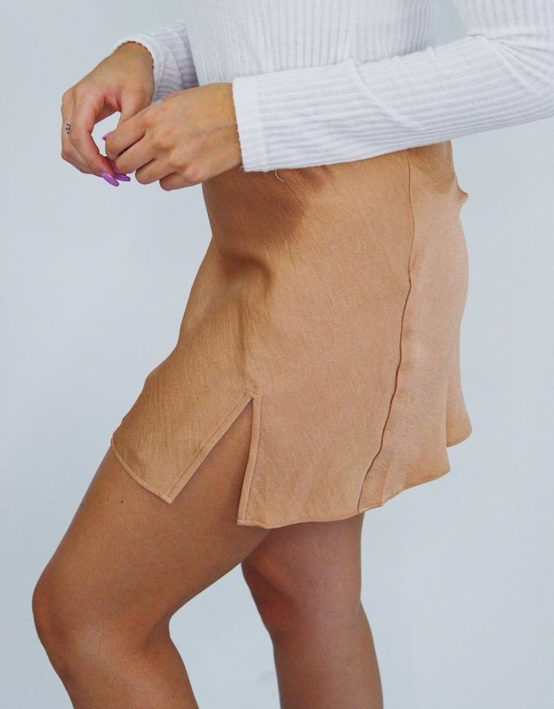Cotton Candy Slit Heaven Mini Skirt