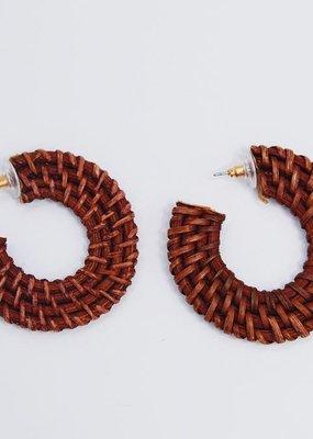 U.S. Jewelry House (New York Style) Dream Weaver Hoops