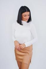 Cotton Candy Slit Heaven Mini Skirt