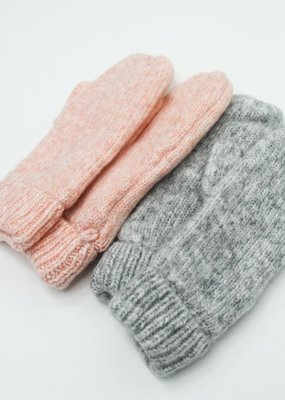 Look by M Cotton Candy Confetti Mittens