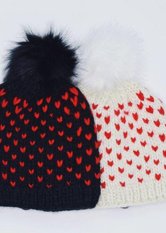 Look by M Little Heart Hat