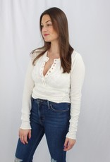 Free People One Of The Girls Henley