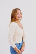 Cotton Candy Such A Flirt Sweater