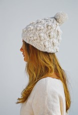 Look by M Little Snowball Cable Pompom Hat