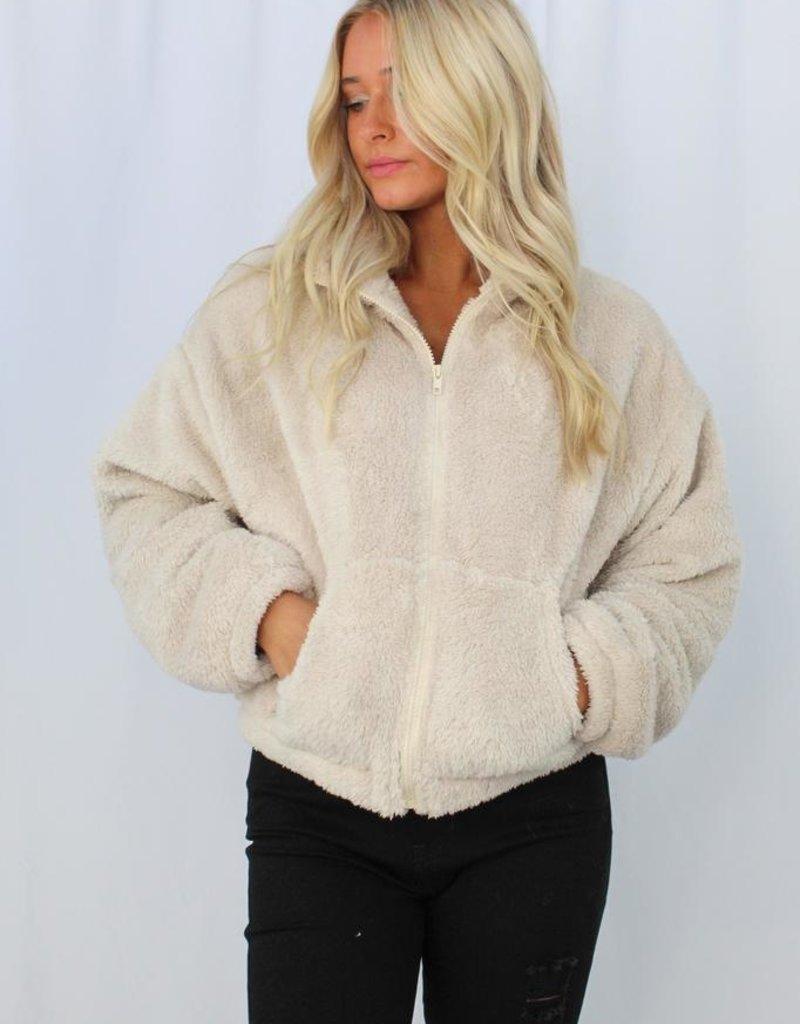 Cotton Candy Safety Net Jacket
