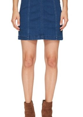 Free People Denim modern femme skirt