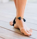 Natural Life Bali Anklet Gold Black