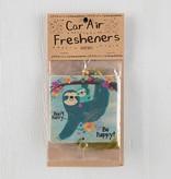 Natural Life Air Freshener Don't Hurry Sloth