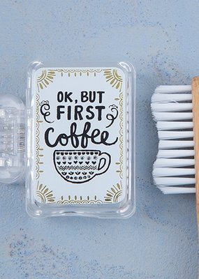 Natural Life Toothbruch Cover First Coffee