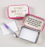 Natural Life Prayer box thankful & grateful