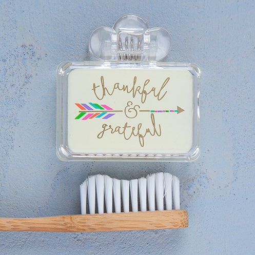 Natural Life Toothbrush Cover Thankful