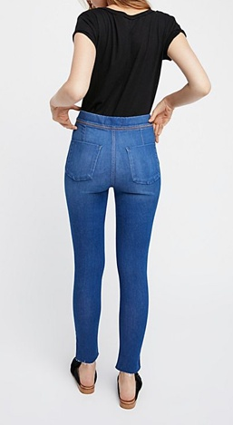 Free People Easy Goes It Jeans