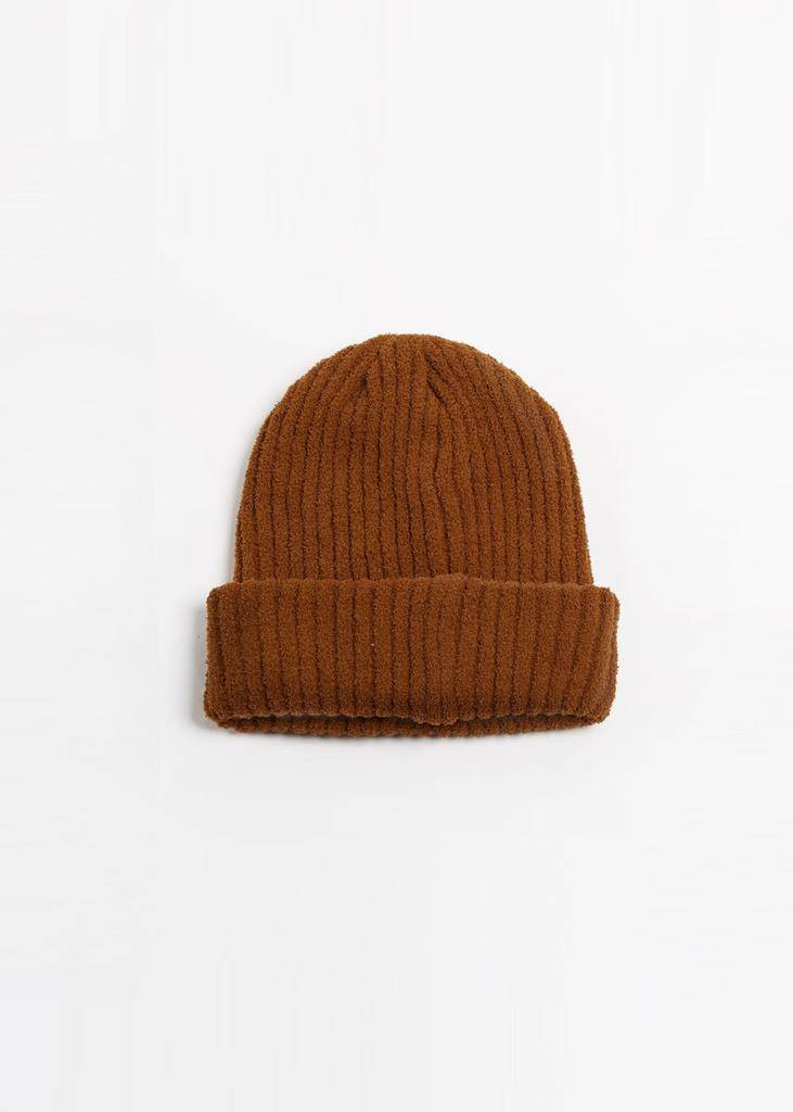 Look by M Ribbed Soft Knit Beanie 37fd7cb7085