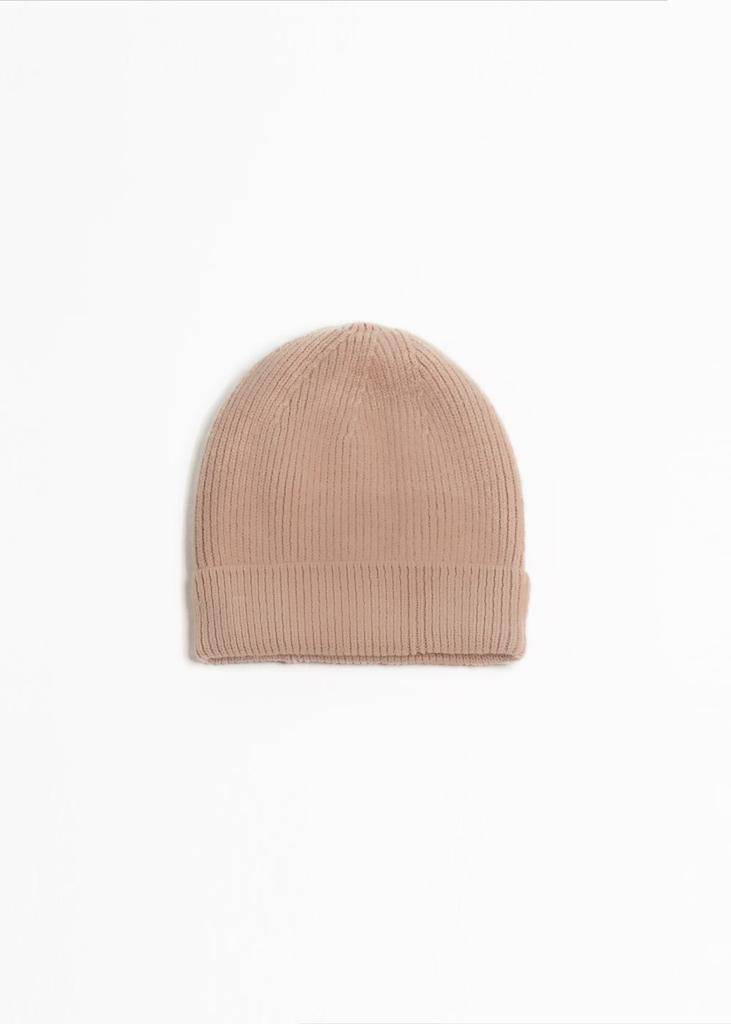Look by M Basic Ribbed Beanie
