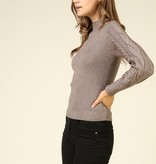 Timing Long Sleeve Mock Neck Sweater