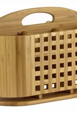 Bamboo Utensil Holder