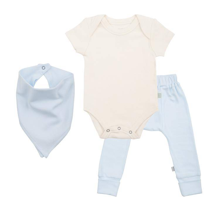 Finn & Emma Gift Set- Bodysuit, Pants, & Bib