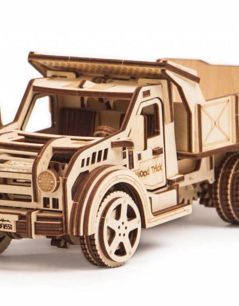 Wood Trick Wood Model- Dump Truck