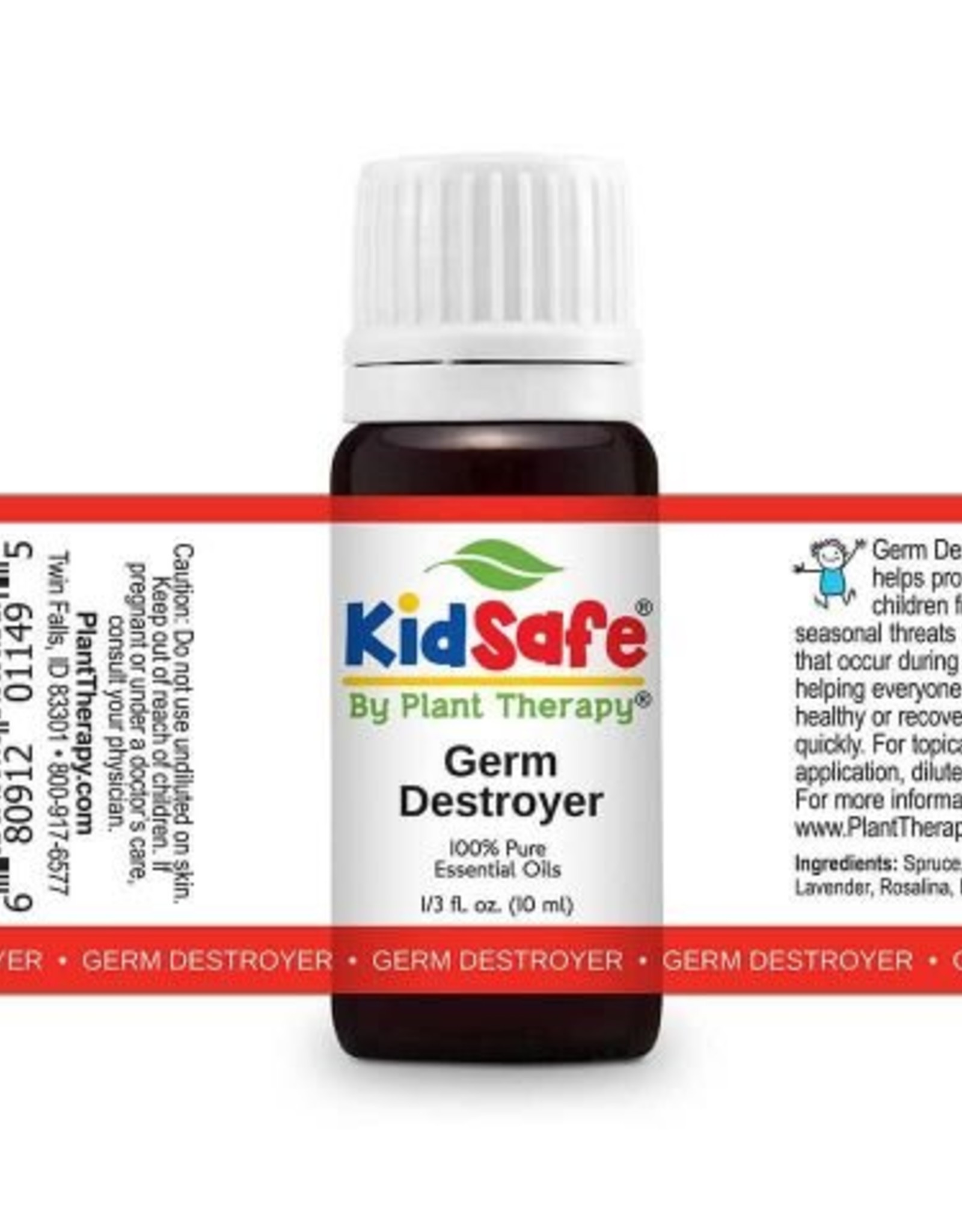 Plant Therapy Kid Safe Essential Oil- Germ Destroyer