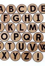Tree Hopper Wooden ABC Magnet Set