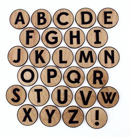 Tree Hopper Wooden ABC Magnet Set