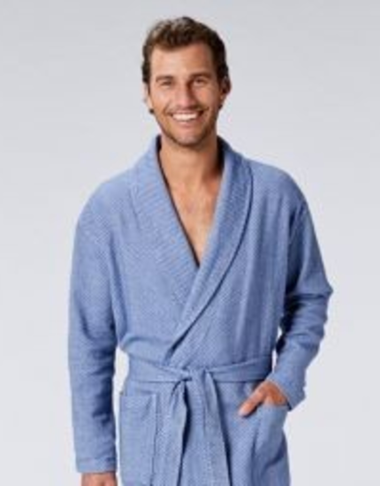 Unisex Mediterranean Organic Robe- Lake-