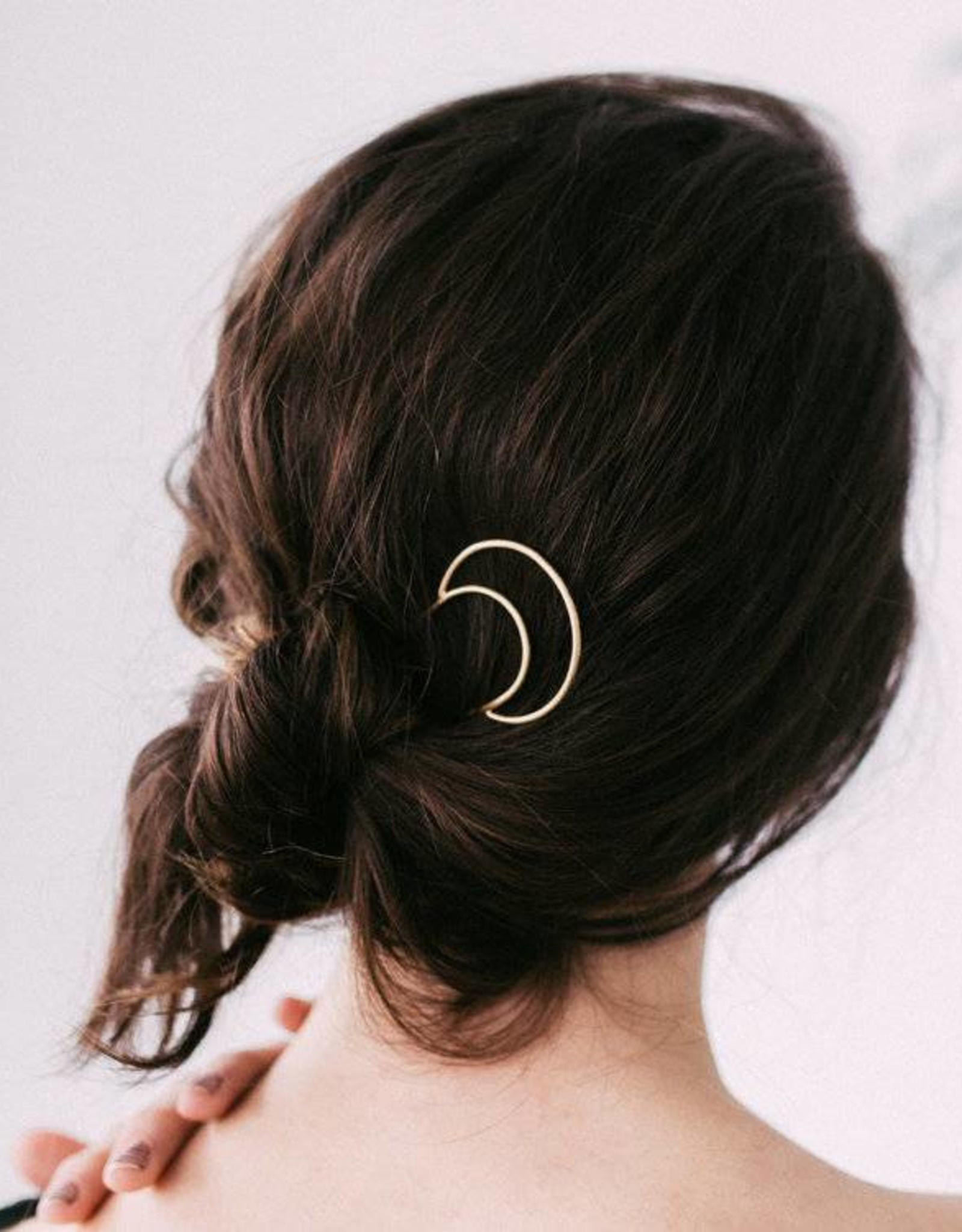 Favor Jewelry Crescent Hair Pin