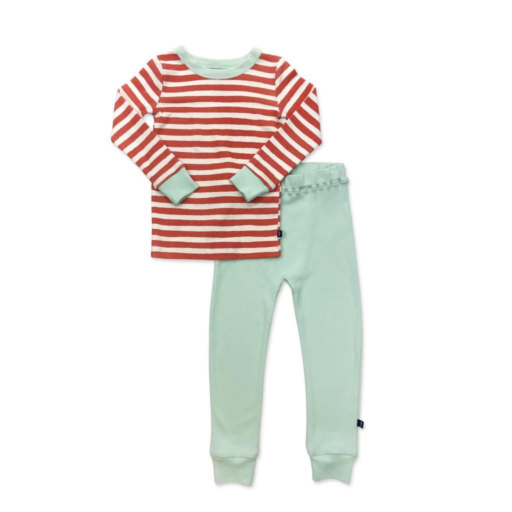 Finn & Emma Dream World Red Stripe PJ Set