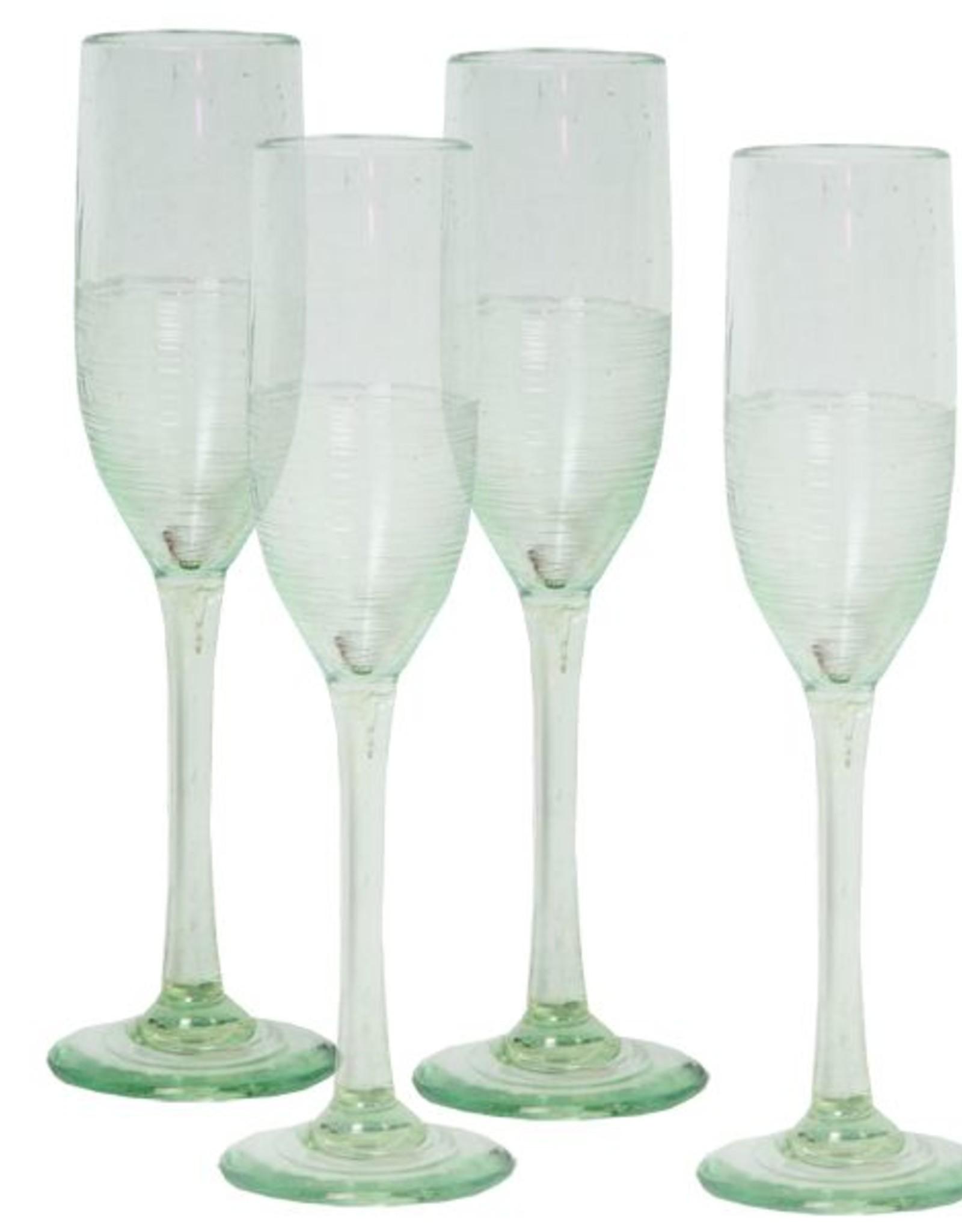Zen Zen Champagne Flute