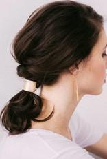 Favor Jewelry Cusp Pony Tail Hair Tie- Yellow Brass