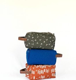 Maika Reclaimed Cotton Canvas Travel Case