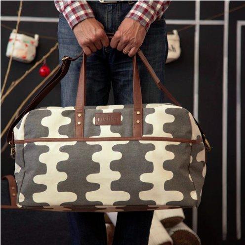 Maika Reclaimed Cotton Canvas Duffel Bag