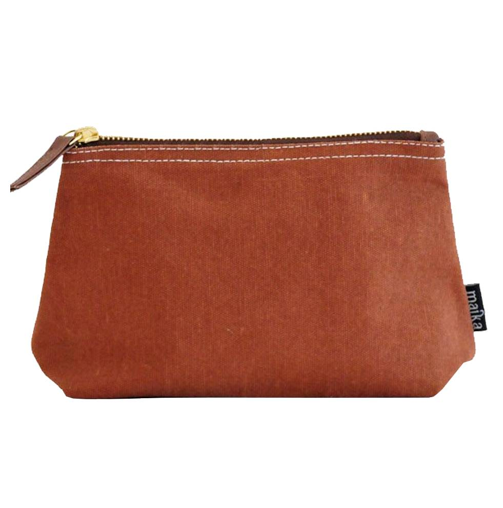 Maika Reclaimed Cotton Canvas Pouch (Large)