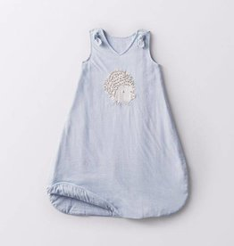 Coyuchi Jersey Sleep Sack, Hedgehog